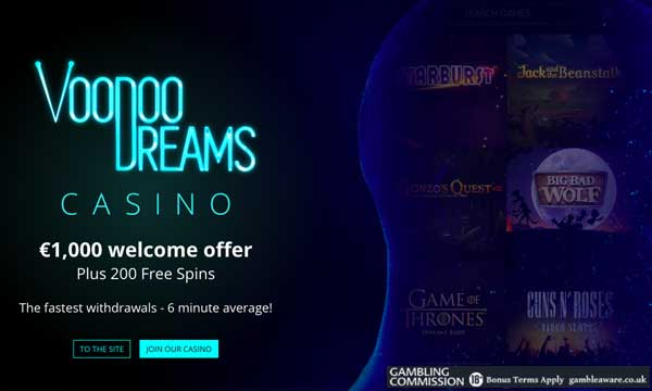 Casino Of Dreams 200 Free Spins