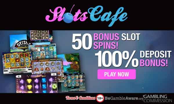 Slots Cafe Casino Bonus 50 Starburst Spins 100 Welcome Bonus