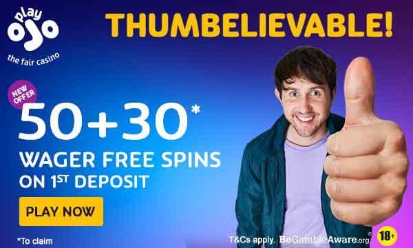 playojo no wager free spins bonus