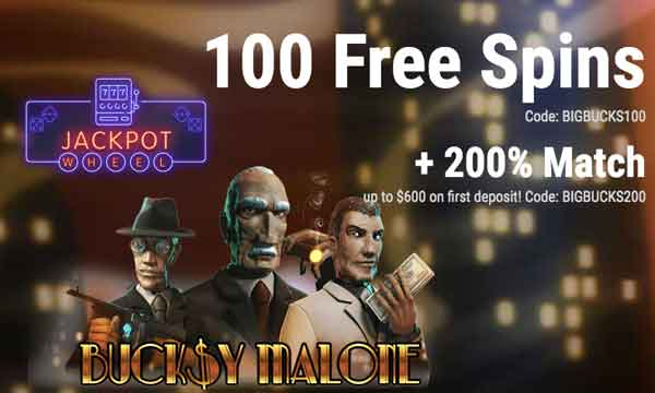Jackpot Wheel Match Bonus Claim 200 Deposit Match Up To 600