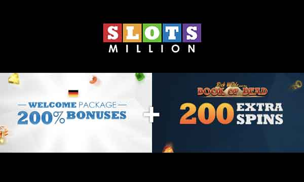 slots million 200 casino bonus