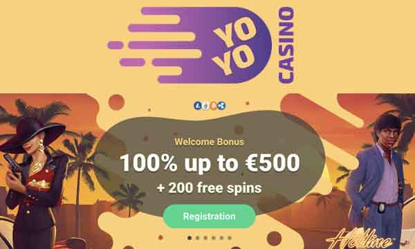 yoyo casino 200 free spins