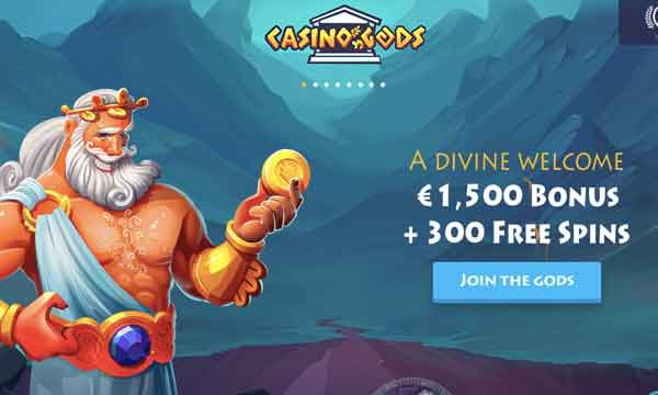 casino gods free spins bonus