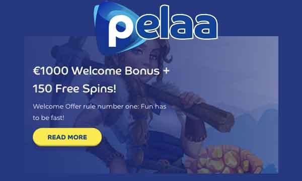 Pelaa Casino Bonus 150 Free Spins 100 Casino Bonus To 100