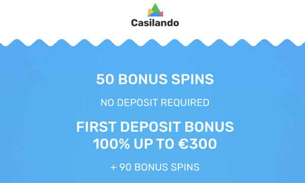 casilando 50 free spins no deposit