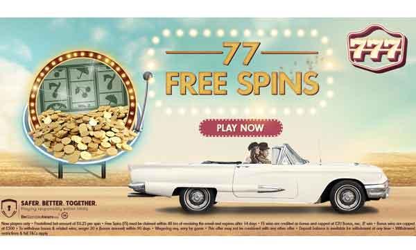 777 Casino No Deposit