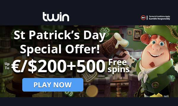 twin casino st patricks