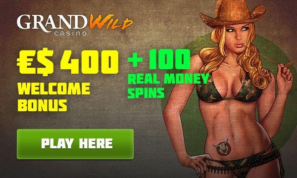grandwild casino free spins no wager