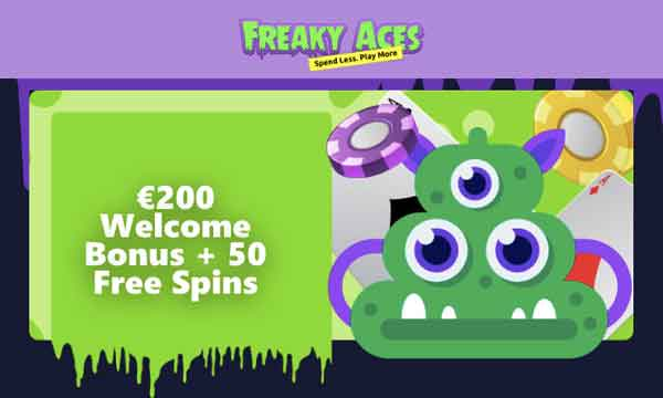 freaky aces free spins no wager
